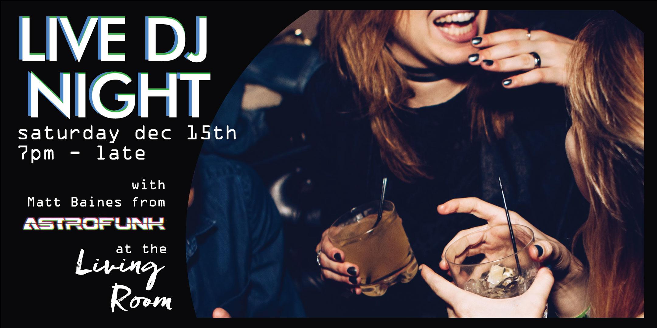 Live DJ night at room2