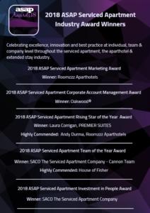 ASAP Awards 2018 winner list