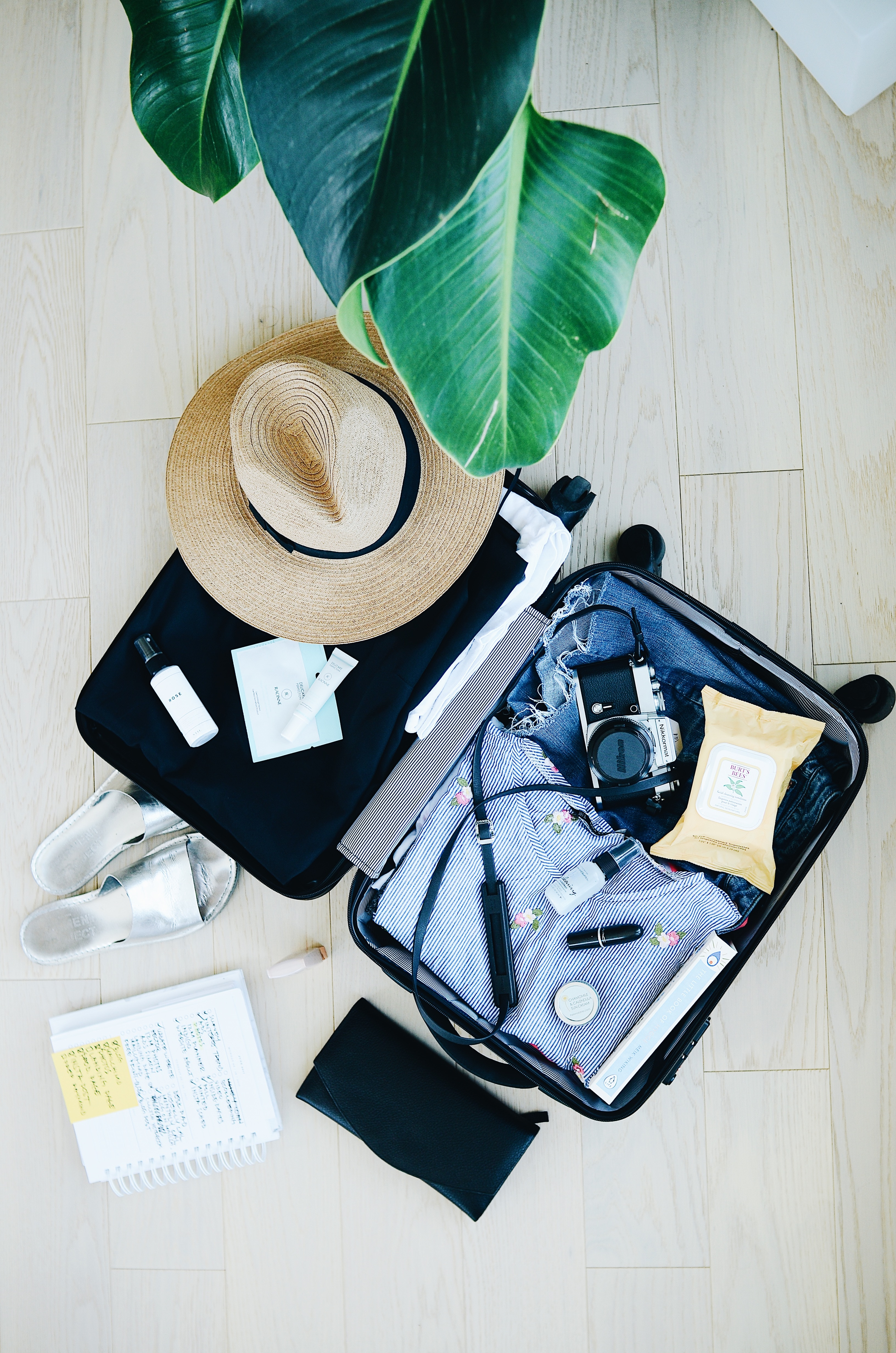 Tips to travel light