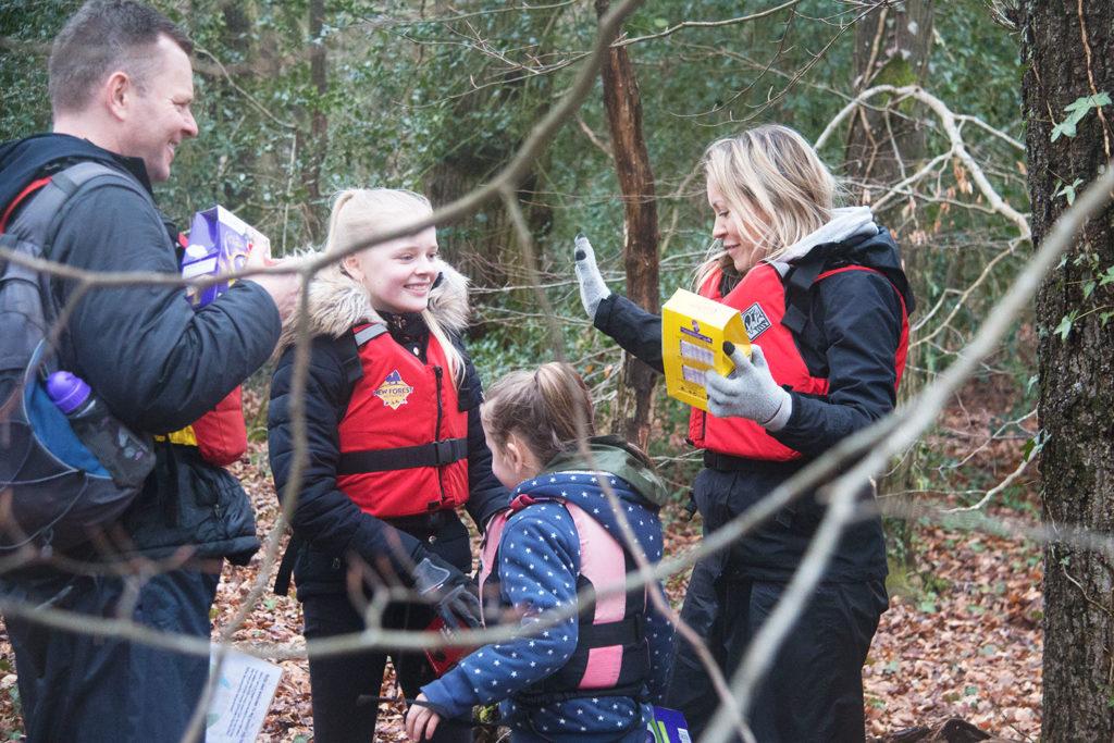 New Forest Canoe Easter egg hunt